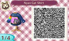 Nyan Cat Shirt | QRCrossing.com