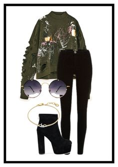 """""""Casual 1"""" by plainjanestyling on Polyvore featuring Spitfire and Missoma"""