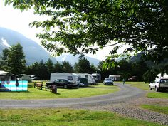 Glen-Nevis caravan and camping. Near fort william