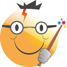 Free Image on Pixabay - Emoticon, Smiley, Harry Potter Emoticon, Public Domain, Animation, Smile Face, Free Pictures, The Magicians, Hogwarts, Pikachu, Creations
