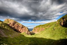 Portknockie shore pathway