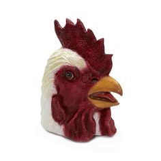 #Trendy Halloween - #Forum Novelties Rooster Deluxe Latex Mask - AdoreWe.com