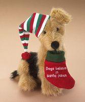 Dogs Believe in Santa Paws- Boyd's Bears