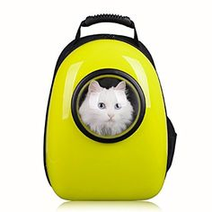 Amazon.com   Pettom Pet Dog Cat Bubble Carrier Airline Approved Shoulder  Backpack Mobile Bed 8db544e934e91