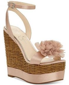 76bbbd23261 Casual   Pretty Jessica Simpson Wedge Sandals For Summer
