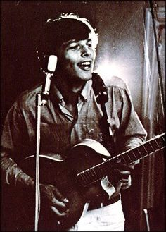 Picture of David Gilmour — very, very Young