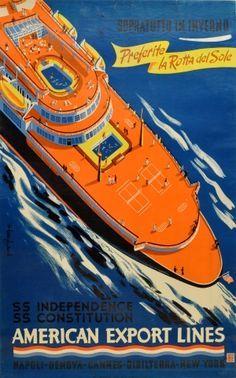 American Export Lines ~ George Ponavery