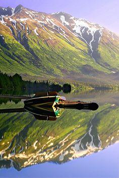 Peninsula de Kenai, Alaska (by Ya Zhang)