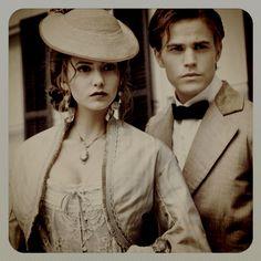 Katherine Pierce & Stefan Salvatore