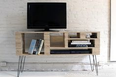 Diy Ideas: 5 Wood Media Console Projects