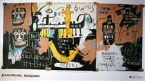 Jean-Michel Basquiat, History of the Black People (n.d.)