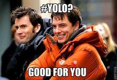 Ahahaha!! So good! #Yolo