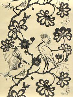 Egrets FBW-BO84 - Shop by Products - Signature Prints