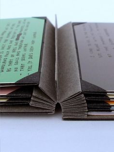 This online workshop will reveal the secrets of 'The Shrigley', an elegant and non-intrusive method for storing and presenting documents. Mini Albums, Bookbinding Tutorial, Buch Design, Book Journal, Journals, Small Journal, Handmade Books, Mini Books, Diy With Books
