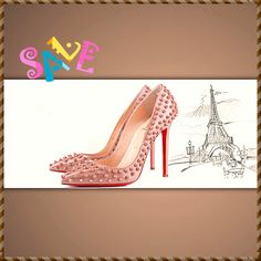 Cheap Louboutin Outlet Gorgeous Shoes From Pinterest For S/S 2014 Cheap Louboutins, Cheap Christian Louboutin, Fashion Weeks, Shoes Outlet, Paris Fashion, Shoes Online, Heels, Boots, Shopping