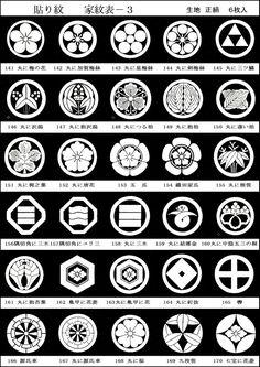 Table of Japanese family crests Japanese Patterns, Japanese Prints, Japanese Design, Japanese Family Crest, Family Symbol, Japan Art, Pictogram, Star Wars Art, Japanese Culture