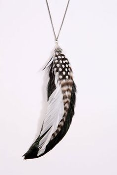 Feathers...necklaces, shoes, hair accessories, earrings....feathers!