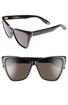 Givenchy 57mm Cat Eye Sunglasses available at #Nordstrom