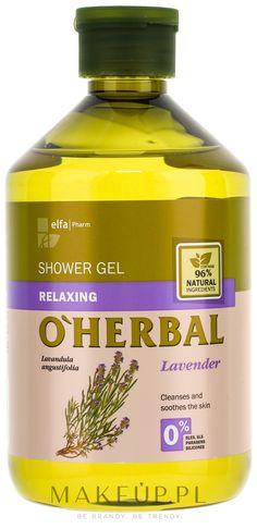 MAKEUP | O'Herbal Relaxing Shower Gel - Relaksujący żel pod prysznic z ekstraktem z lawendy