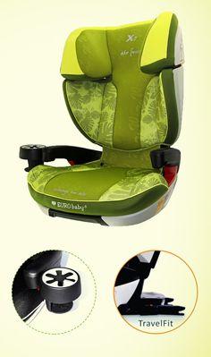 Fotelik samochodowy #Eurobaby dla dzieci o wadze od 15 do 36 kg.  #supermisiopl