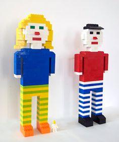 Self-portrait with Lego