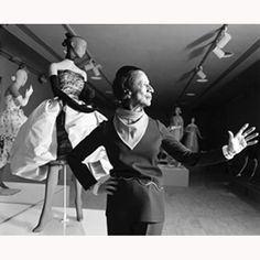 Diana Vreeland born in Paris and raised in New York and was a fashion editor working with Harpars Bazaar, Vogue and then starting the Costume Institute of the Metropolitan Museum of Art. Fabulous!