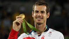 #Rio2016 : Andy Murray wins tennis gold for Great Britain  #blogchat #gold  #medal  #award