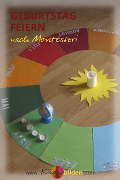 Kinder Geburtstag Ritual | Montessori Jahreskreis | DIY Lebenskreis Lebensbuch | Geburtstag feiern Kindergarten