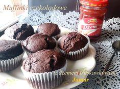 Muffinki czekoladowe z dżemem truskawkowym – Zasmakuj Kuchni Breakfast, Food, Morning Coffee, Essen, Meals, Yemek, Eten