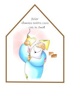Sé que voy Contigo: Patxi V. FANO Sunday School Kids, Religion Catolica, Kids Church, Bible Stories, Cute Drawings, Faith, Christian, Album, Christmas Ornaments