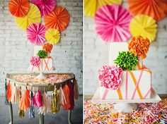 Colour POP! What palettes to add to your Rustic Wedding