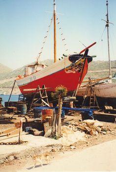 chantier naval 1970 Symi