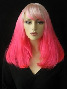 We need this pink #wig from Annabelleswigs.co.uk in our lives!