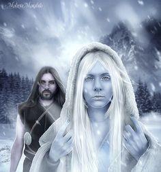 Loki and Skadi from #AoMEE by ErinniManie on @deviantART