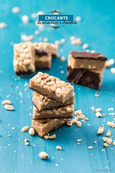Clavel's Cook: A saúde da alma {Crocante de amendoim com chocolate}