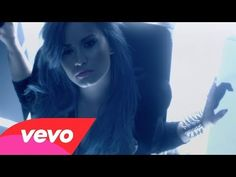 """You're all I see in all these faces."" Demi Lovato - ""Neon Lights"" (Music Video)"