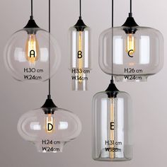art deco glass pendant lights by unique's co. | notonthehighstreet.com
