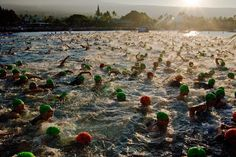 Melee    Amateur swim start at the Ironman World Championships in Kona, HI