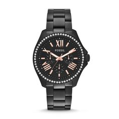 Fossil Cecile Multifunction Stainless Steel Watch - Black
