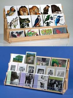 This compact card display is great in shops and booths where space is limited. Perfect for tables and countertops for greeting cards and postcards. Quality rack ships flat and slides together in minutes with no tools. Craft Fair Displays, Vendor Displays, Market Displays, Card Displays, Art And Craft Shows, Craft Show Ideas, Greeting Card Holder, Greeting Cards, Stall Display
