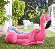 Lilly Pulitzer Fancy Flamingo Pool #pbkids
