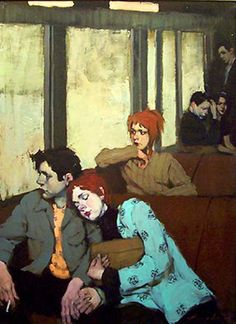 Kunstenaar Malcolm T. Liepke . Enjoy RushWorld boards,  ART A QUIRKY SPOT TO FIND YOURSELF, UNPREDICTABLE WOMEN HAUTE COUTURE and MOOD BUSTERS FEEL BETTER NOW.  See you at RushWorld on Pinterest! New content daily, always something you'll love!