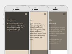 Personal website exploration. by Sam Mearns