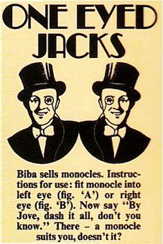 SWEET JANE: Dandy Fashion: The Biba Men's Range 1969 - 1975