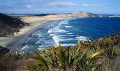 So much sand, so few people ... ninety mile beach, North Island, New Zealand. Photograph: Herbert Stadler/Corbis