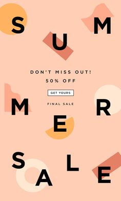 sale design 24 Ideas Fashion Poster Sale Newsletter Design For 2019 E-mail Design, Layout Design, Media Design, Banner Design, Design Trends, Web Layout, Website Layout, Creative Design, Poster Design