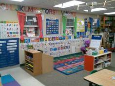 My pre k classroom