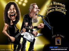 Caricaturas y biografia de guitarristas famosos - Taringa!