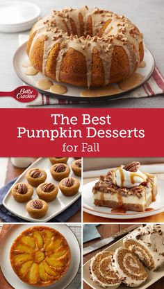 From perennial classics to creative spins, fall's favorite flavor plays the starring role in these must-make desserts.