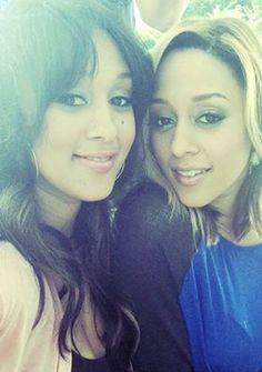 Tia and Tamera Mowry. #SisterSister
